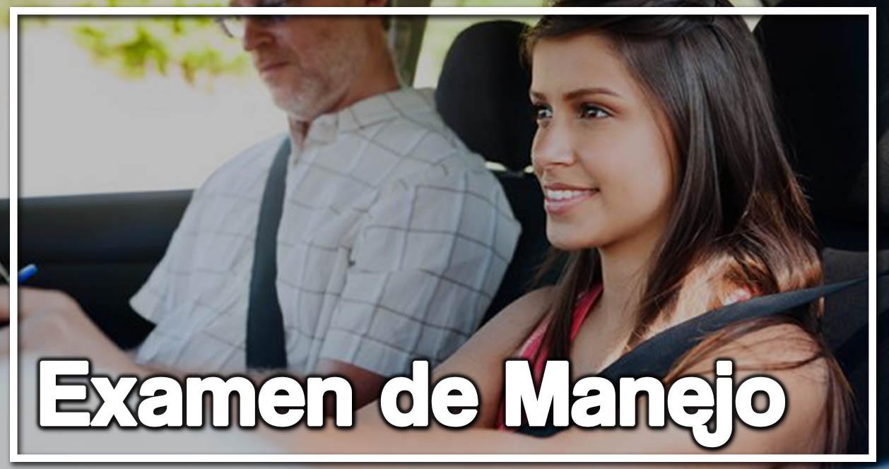 EXAMEN DE MANEJO