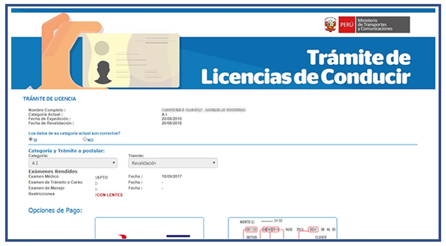 primer-paso-ver-datos-revalidar-licencia-de-conducir-online-brevetes-peru